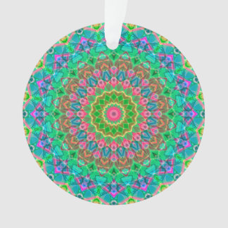Acrylic Ornament Geometric Mandala G18