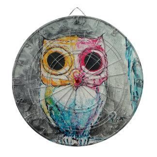 Acrylic Owl Dartboard
