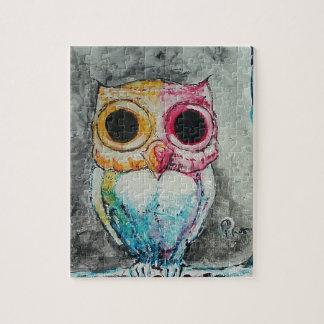Acrylic Owl Jigsaw Puzzle