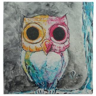 Acrylic Owl Napkin