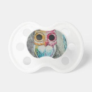 Acrylic Owl Pacifier
