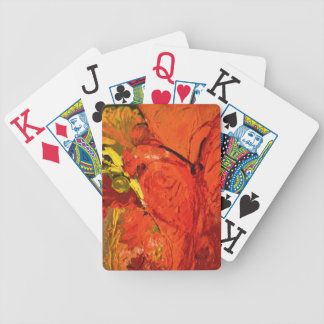 Acrylic Painting #3 Bicycle Playing Cards