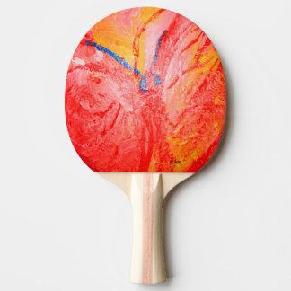 Acrylic Painting #3 Ping Pong Paddle