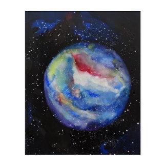 Acrylic Wall Art Planet