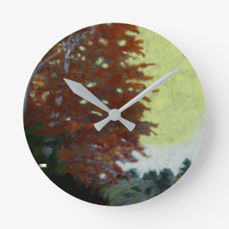 Acrylic Wall Clock Round (Medium) 13