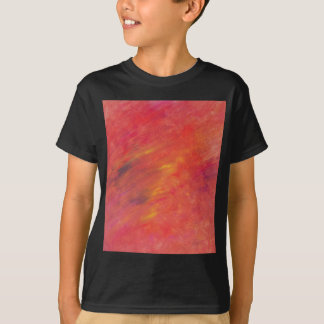 Acryllic Abstract Painting in Reds - Wildfire T-Shirt