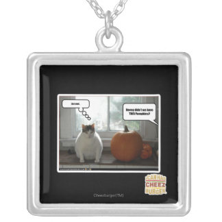 Act cool silver plated necklace