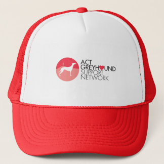 ACT Greyhound Support Network Logo Cap