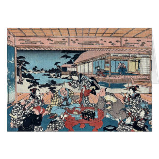 Act Seven by Utagawa, Toyokuni Ukiyoe Card