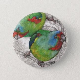 Act swiftly 6 cm round badge