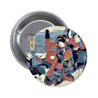 Act three of the Chushingura by Utagawa, Kuniyasu Pins