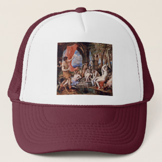 Actaeon Surprising Diana When Bathing Trucker Hat
