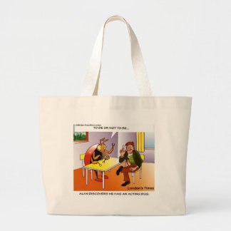 Acting Bug Funny Cartoon Tees Gifts & Collectibles Jumbo Tote Bag