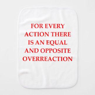 action burp cloth