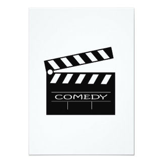 Action - comedy movie. card