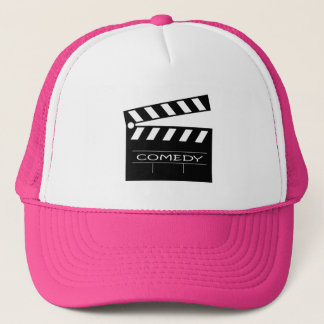 Action - comedy movie. trucker hat