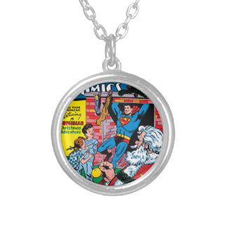 Action Comics #117 Silver Plated Necklace