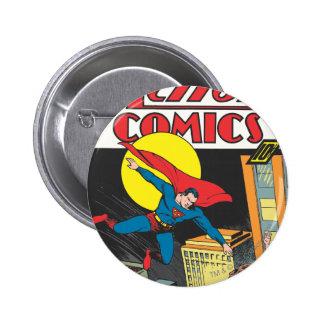 Action Comics #23 6 Cm Round Badge