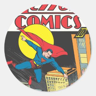 Action Comics 23 Round Sticker