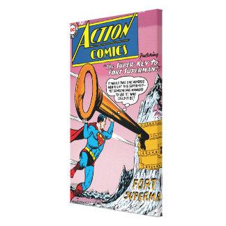 Action Comics #241 Stretched Canvas Prints
