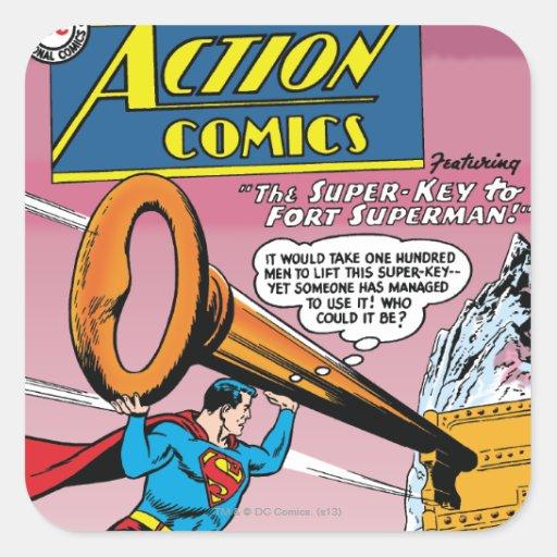 Action Comics #241 Square Stickers