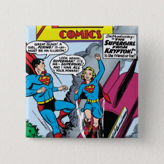 Action Comics #252 15 Cm Square Badge