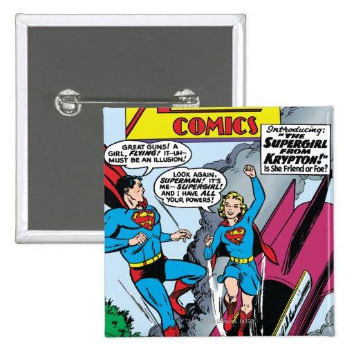 Action Comics #252 Pinback Button