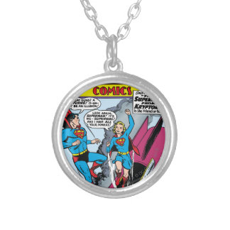 Action Comics #252 Silver Plated Necklace