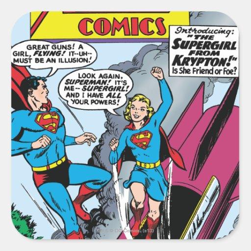 Action Comics #252 Stickers