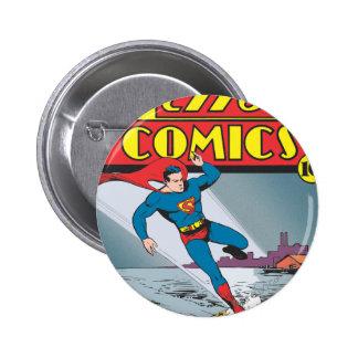 Action Comics #25 6 Cm Round Badge