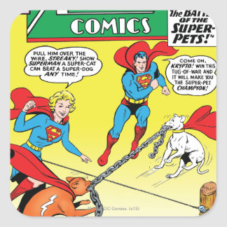 Action Comics 277 Square Sticker