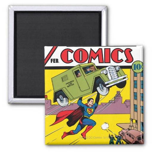 Action Comics #33 Magnet