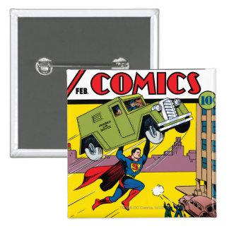 Action Comics 33 Pinback Buttons