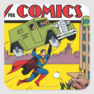 Action Comics 33 Square Sticker
