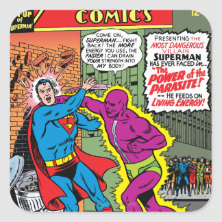 Action Comics 340 Square Sticker