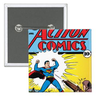 Action Comics #35 Button
