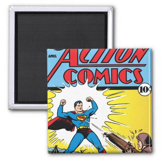 Action Comics #35 Refrigerator Magnet