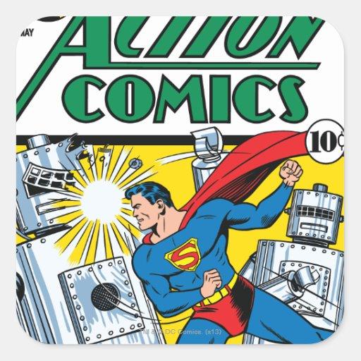 Action Comics #36 Stickers