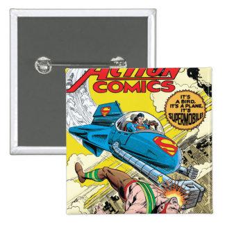 Action Comics #481 Pinback Buttons