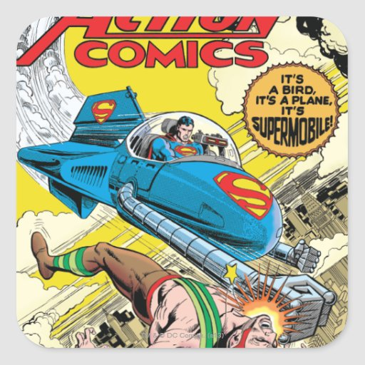 Action Comics #481 Stickers