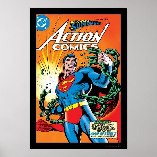 Action Comics #485 Poster