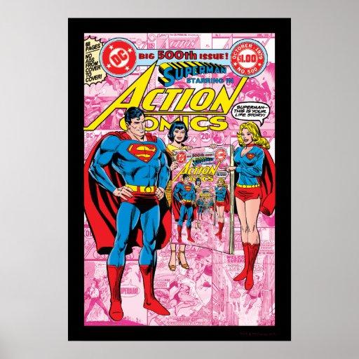 Action Comics #500 Oct 1979 Print