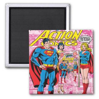 Action Comics #500 Oct 1979 Square Magnet