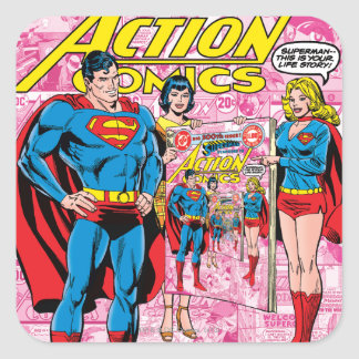 Action Comics 500 Oct 1979 Stickers