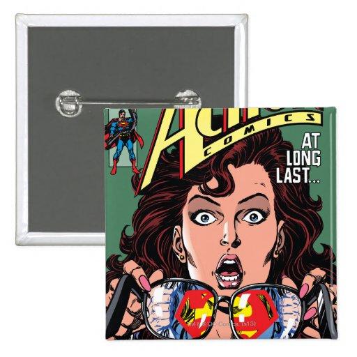 Action Comics #662 Feb 91 Buttons