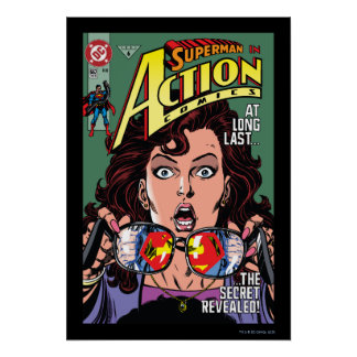 Action Comics #662 Feb 91 Poster