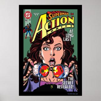 Action Comics 662 Feb 91 Poster