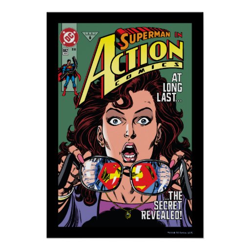 Action Comics #662 Feb 91 Poster