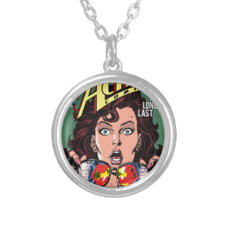 Action Comics #662 Feb 91 Silver Plated Necklace