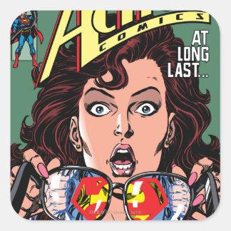 Action Comics 662 Feb 91 Square Sticker